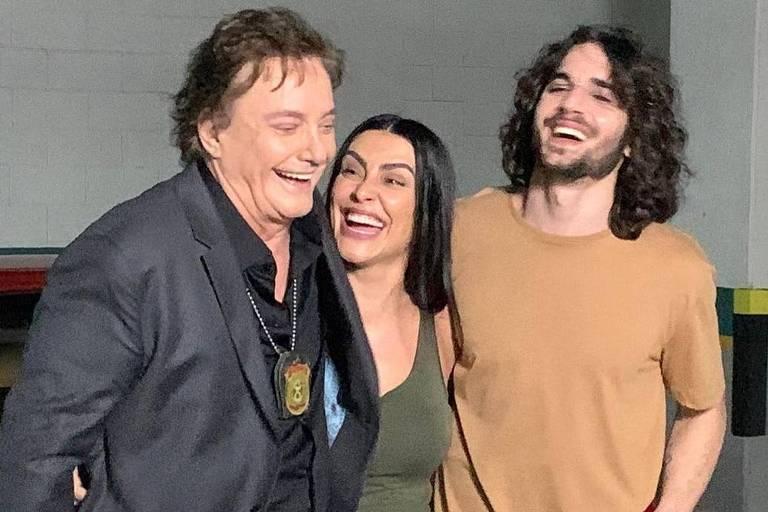 Me Tira da Mira, filme com Cleo, Fábio Jr., e Fiuk