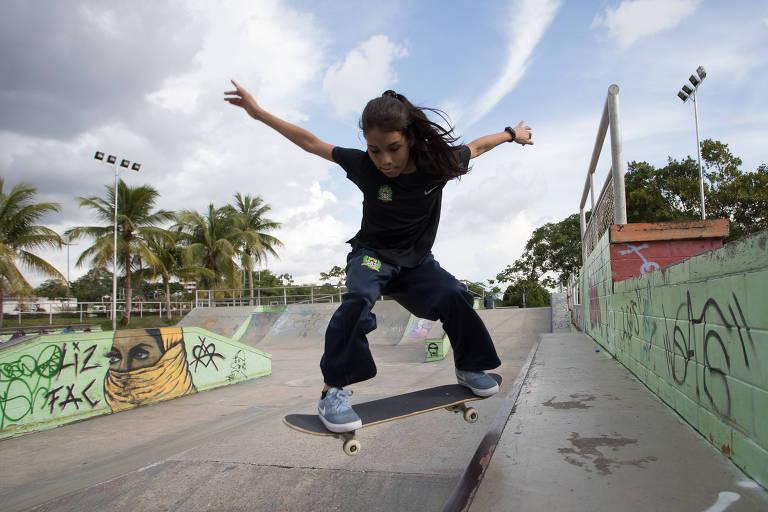 Seleção brasileira une skatistas mirins dispostos a quebrar barreiras