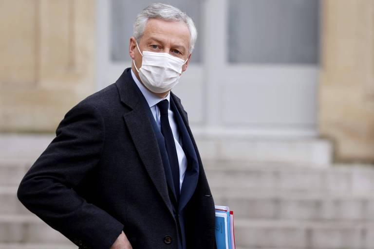 Ministro da Economia da França, Bruno Le Maire
