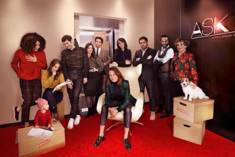 """Quarta temporada da série francesa """"Dix Pour Cent"""" chega à Netflix; produção pode ter spinoff ou episódio especial"""