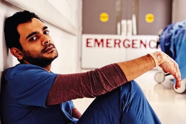 Hamza Haq é o protagonista da série médica 'Transplant'