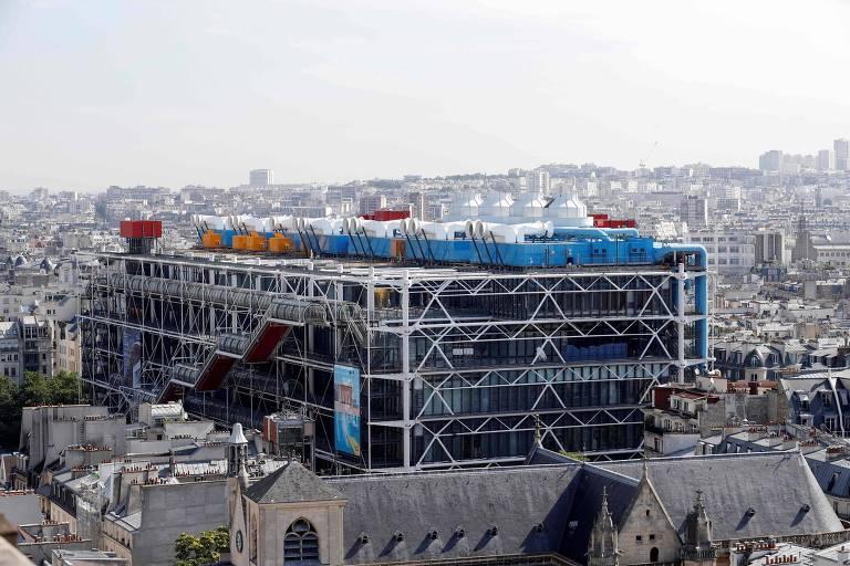 Centro Pompidou fechará para reformas estruturais por três anos a partir de 2023