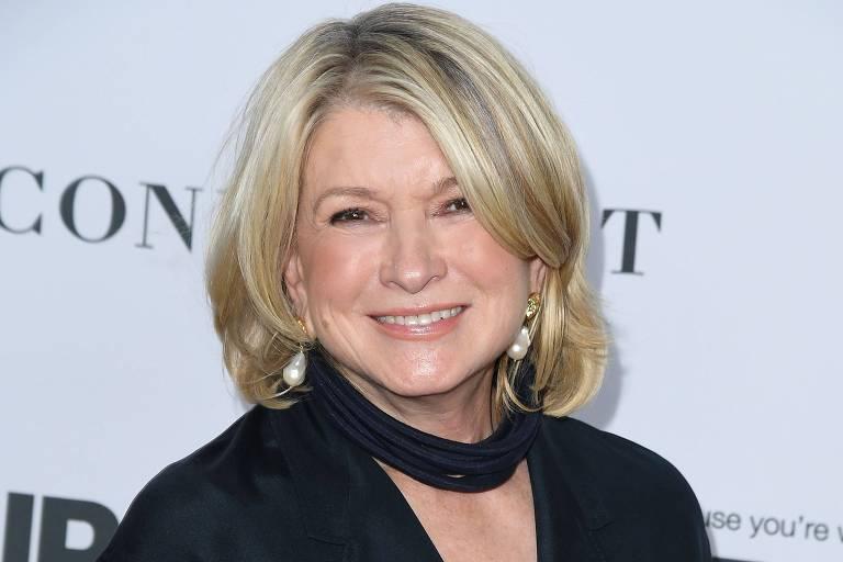 A apresentadora e empresária Martha Stewart