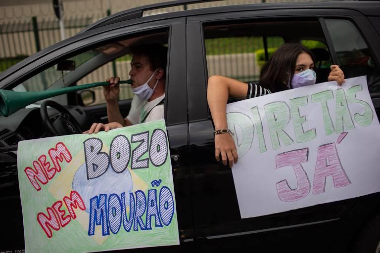 Bolsonaro ganha em Brasília enquanto perde no Brasil