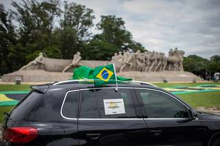 MANIFESTAÇÃO PELO IMPEACHMENT DO BOLSONARO