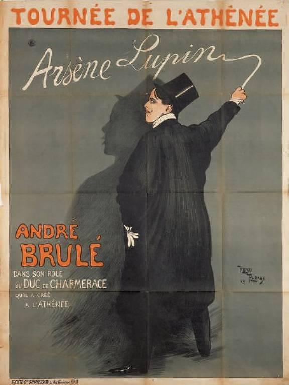 Arsene Lupin, ladrão de Casaca, personagem de Maurice Leblanc
