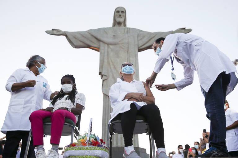 Distribuição das vacinas contra a Covid-19 no Brasil
