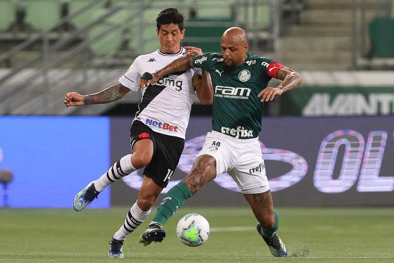 Palmeiras empata, e Santos perde antes de final da Libertadores