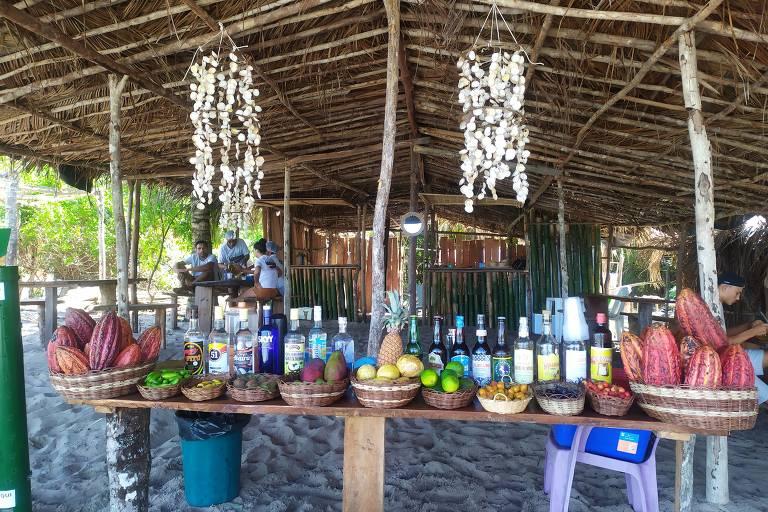 Veja fotos da praia de Moreré, na ilha de Boipeba, na Bahia