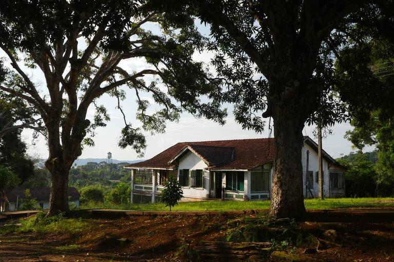Casa da Vila Americana, em Fordlândia