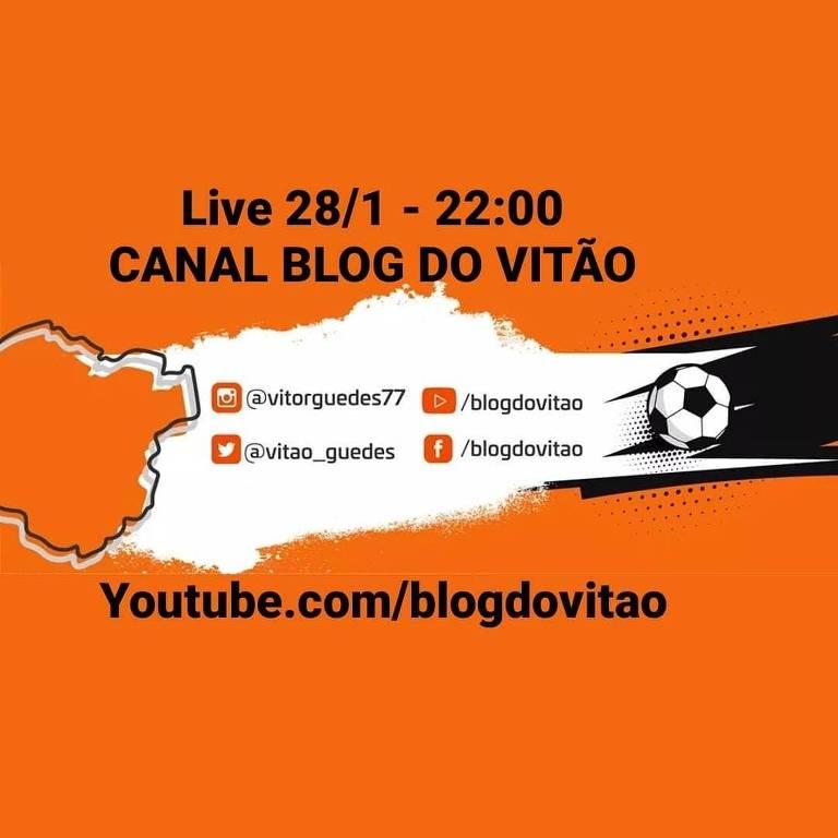 No pós-rodada, o Canal BLOG DO VITÃO chega ao vivo, às 22h, com a repercussão dos jogos desta quinta-feira