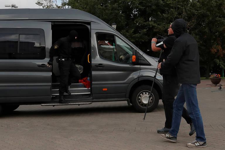 Jornalistas sob repressão na Belarus
