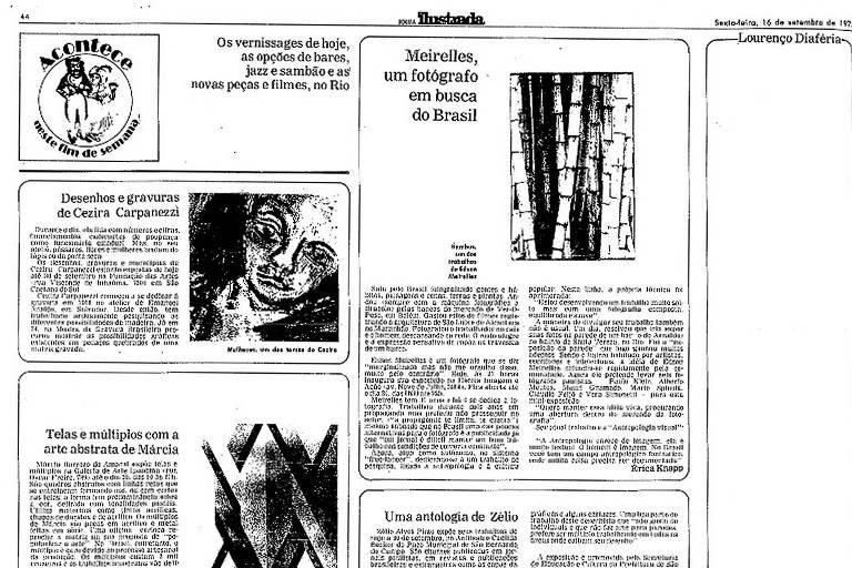 Coluna censurada do jornalista Lourenço Diaféria do dia 16.set.1977