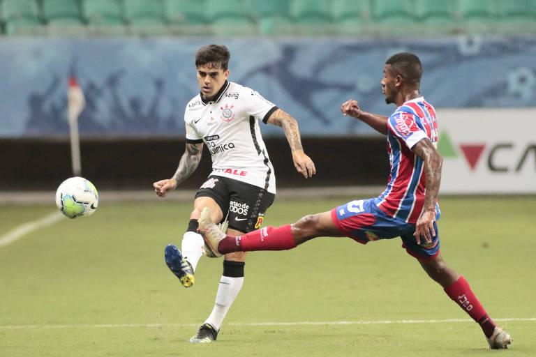 Corinthians foi derrotado pelo Bahia no último dia 28, na Fonte Nova, em Salvador