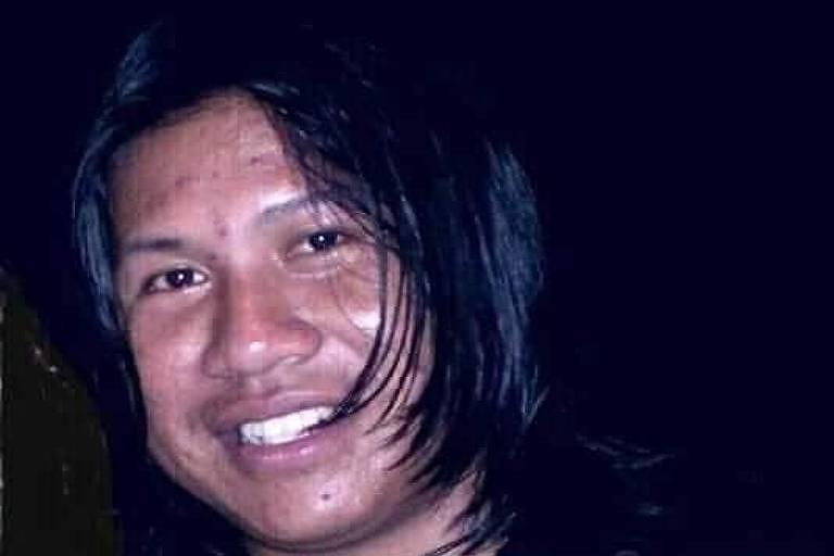 Orowao Pandran Canoé Oro Mon, liderança indígena do povo Canoé, sorrindo em uma foto