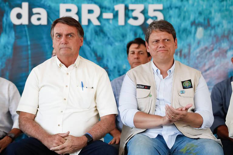 Por caminhoneiros, Bolsonaro diz pressionar Paulo Guedes por R$ 5 bilhões para obras de Tarcísio
