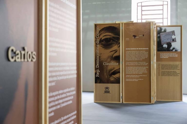 Folha e Acnur tem exposição sobre jornalistas refugiados no Brasil