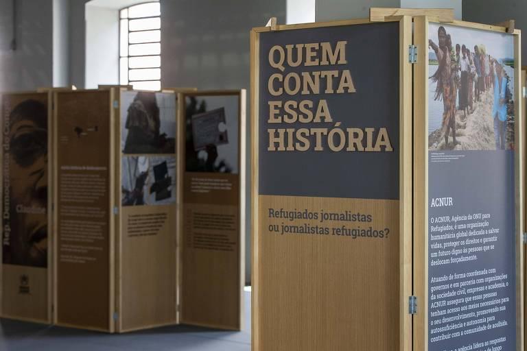 Folha e Acnur fazem oficina sobre pautas a respeito de refugiados