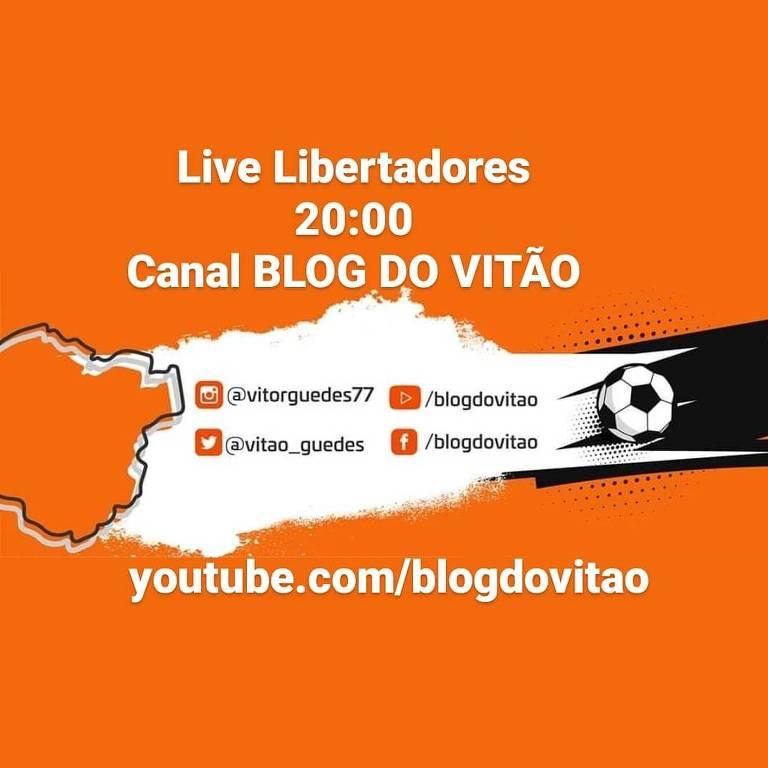 Ilustração da Live do Canal Blog do Vitão