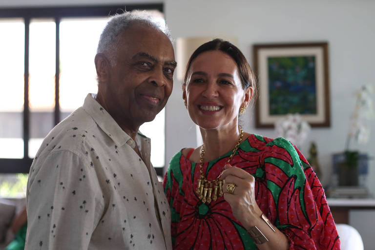 Flora e Gilberto Gil confirmam diagnóstico para Covid-19, mas já estão recuperados