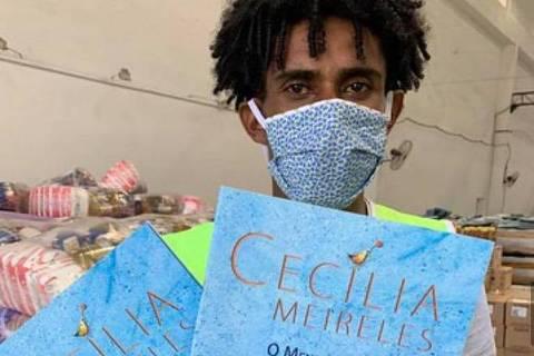 Leonardo da Silva, ex-morador de rua acolhido pela organização Redes da Maré durante a pandemia ORG XMIT: 4Ti_vZtCu7VuiGdYCVx4