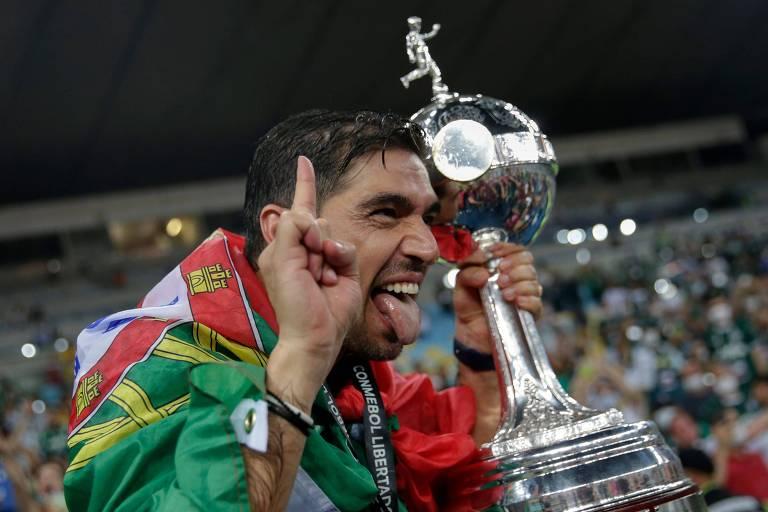 O técnico Abel Ferreira, do Palmeiras