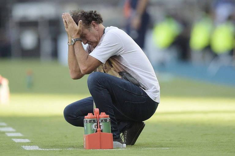 Cuca vai comandar o Santos até o final do Campeonato Brasileiro, neste mês