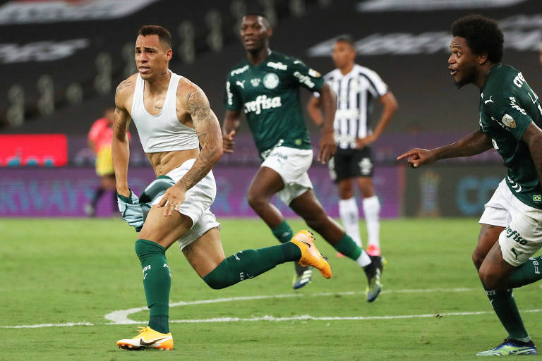 Palmeiras x Santos na final da Libertadores