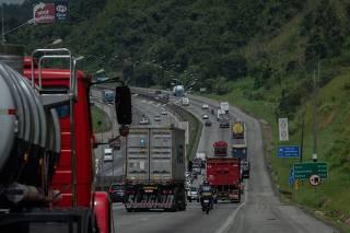 Movimentação na rodovia Castelo Branco