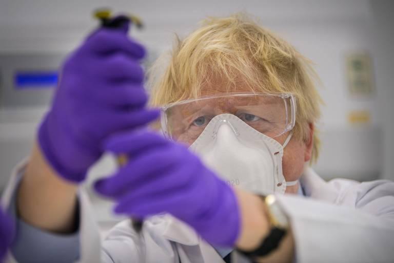 Boris contrata vacinas para o triplo da população do Reino Unido