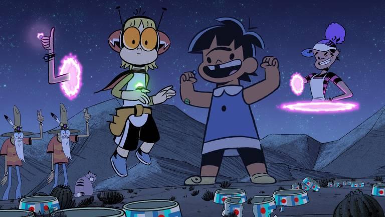 Confira cenas de 'Kid Cosmic'