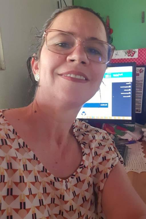 Débora Pizapio Moreno, professora de Rondônia, que fez vários cursos da plataforma Escolas Conectadas