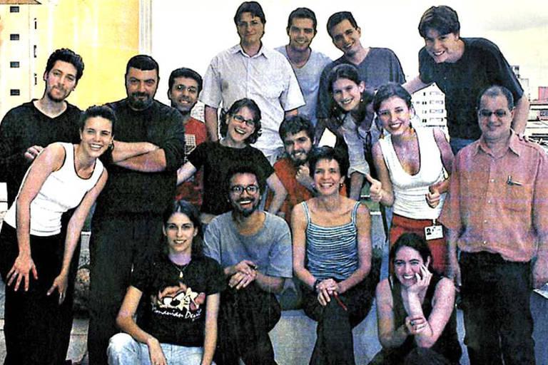 Participantes da terceira turma do Programa de Treinamento em Jornalismo Gráfico da Folha