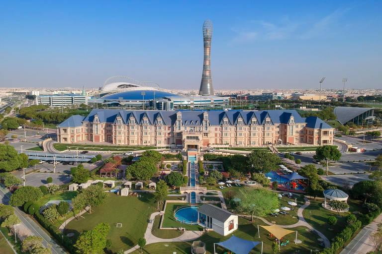 Palmeiras ficará em hotel de luxo no Qatar para o Mundial