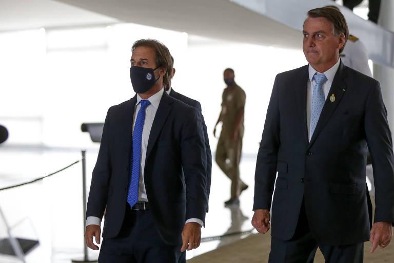 Bolsonaro e presidente argentino se desentendem em reunião do Mercosul