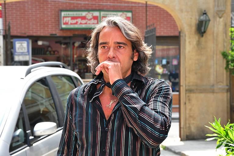"""Ator Alexandre Borges interpreta Jacques Leclair na novela """"Ti Ti Ti"""", da Rede Globo"""