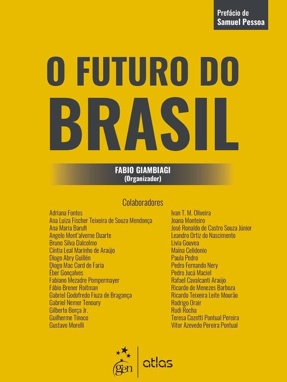 Capa do livro O Futuro do Brasil, organizado pelo economista Fabio Giambiagi
