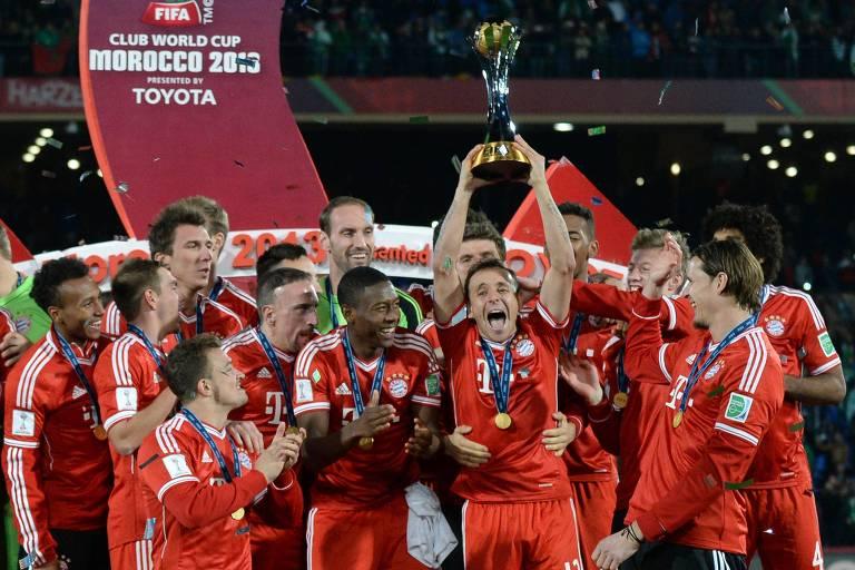 Bayern venceu o Mundial em 2013 e iniciou uma sequência de sete títulos seguidos de europeus no torneio