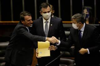 Abertura do ano legislativo na Câmara dos Deputados
