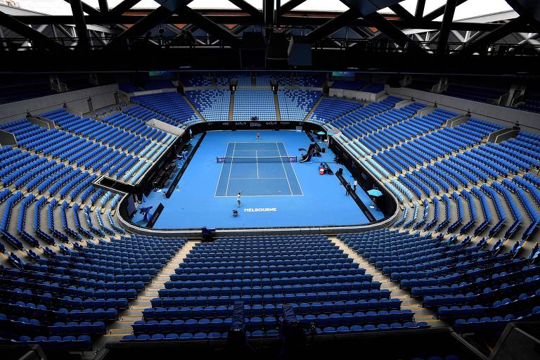 Benjamin Franklin imaginaria o fracasso dos tenistas no Australian Open