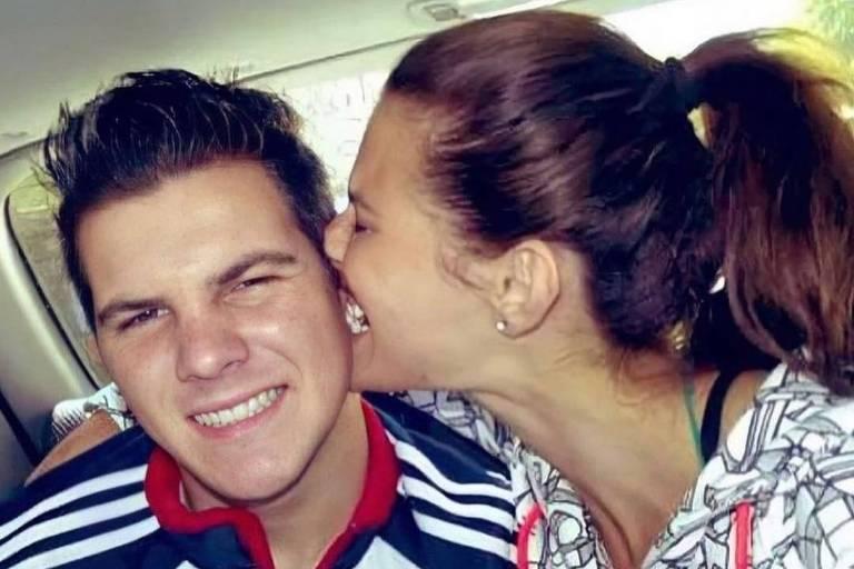 Modelo Dayane Mello e seu irmão Lucas