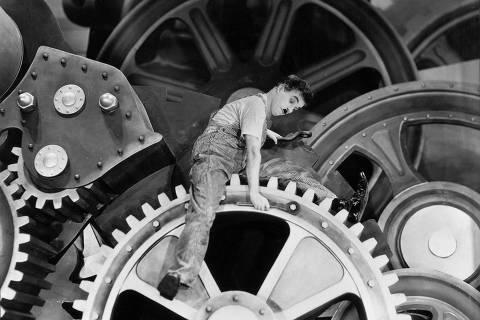 Foto sem data de Charlie Chaplin em