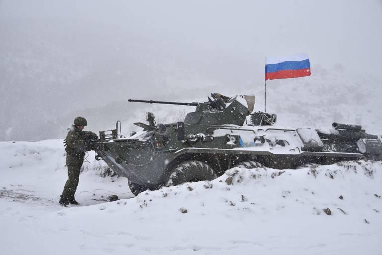 Ruínas da guerra no Cáucaso renovam a rivalidade entre Rússia e Turquia