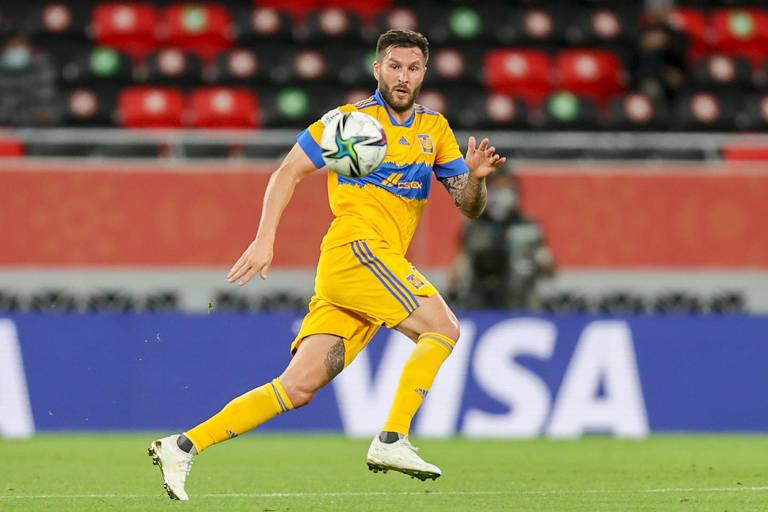 O atacante francês Gignac fez os dois gols do Tigres na vitória por 2 a 1 sobre o coreano Ulsan Hyundai, mas só ele não conseguirá segurar o Palmeiras