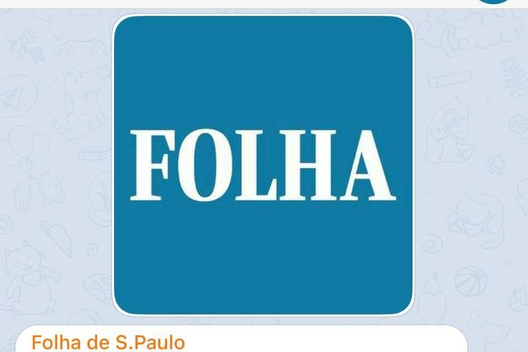Folha lança canal no Telegram para envio de notícias; veja como se inscrever