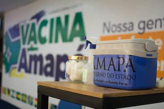 Início da vacinação no Amapá