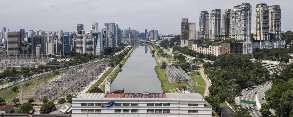 Vista da Usina São Paulo, que o governo de SP pretende transformar em um Puerto Madero paulistano