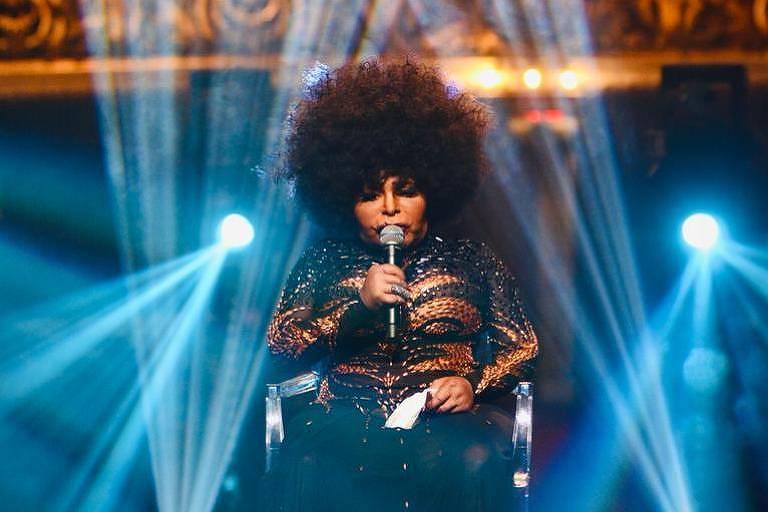 A cantora Elza Soares