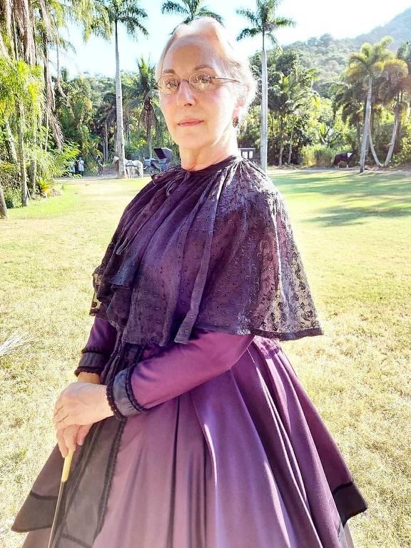 A atriz Lu Grimaldi, Nos Tempos do Imperador
