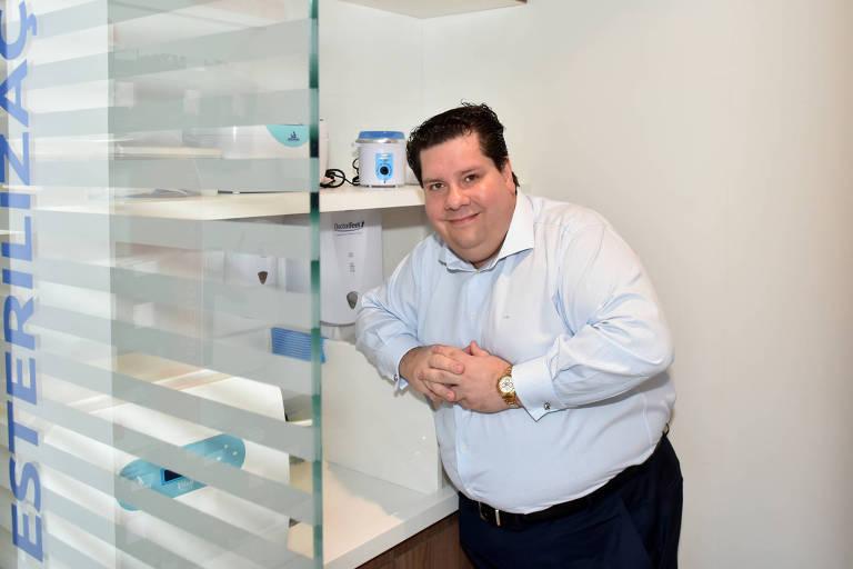 Jonas Bechelli, fundador e presidente da rede Doctor Feet, em SP